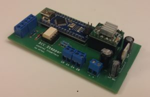DCC Controlled Turntable Stepper Motor Driver – Model Railroading